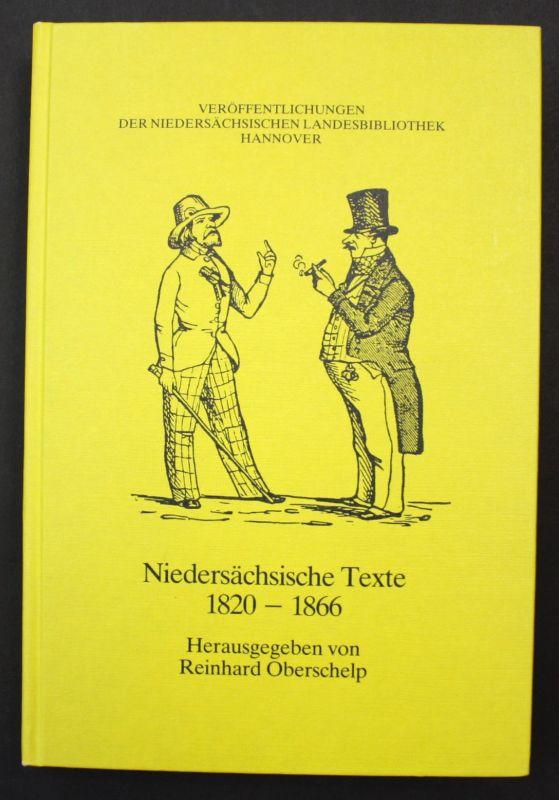 1983 Niedersächsische Texte 1756-1820 Niedersachsen Landeskunde 153854