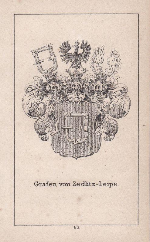 Zedlitz-Leipe Zedlitz Leipe Schlesien Silesia Wappen Heraldik coat of arms Adel