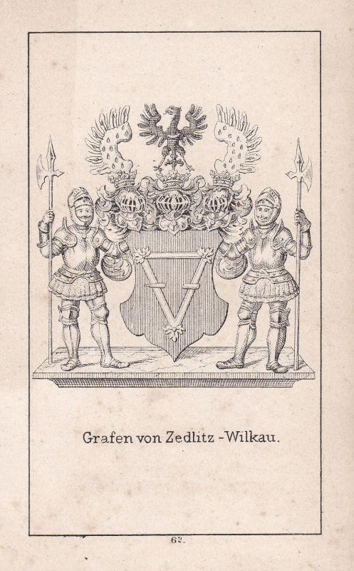 Zedlitz-Wilkau Zedlitz Schlesien Silesia Wappen Heraldik coat of arms Adel