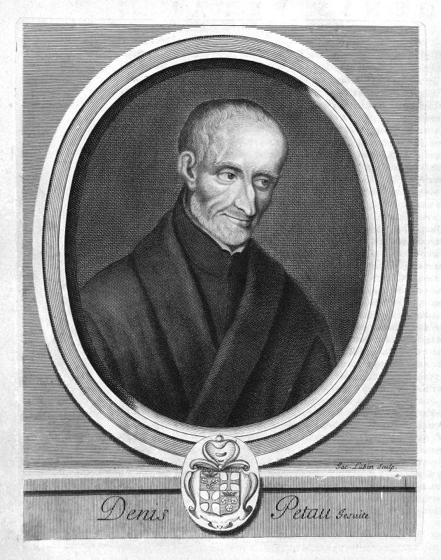 Denis Petau Jesuit jesuite Historiker historien Portrait Kupferstich engraving