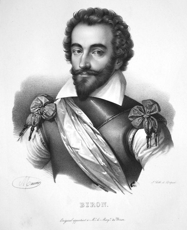 1860 Charles Gontaut Biron Heerführer army commander commandant Maurin Portrait