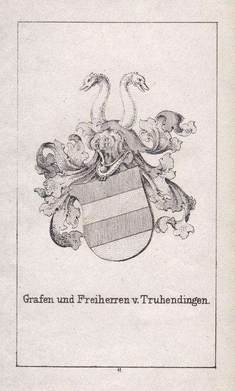 Truhendingen Schwaben Franken Franconia Wappen Heraldik coat of arms Adel