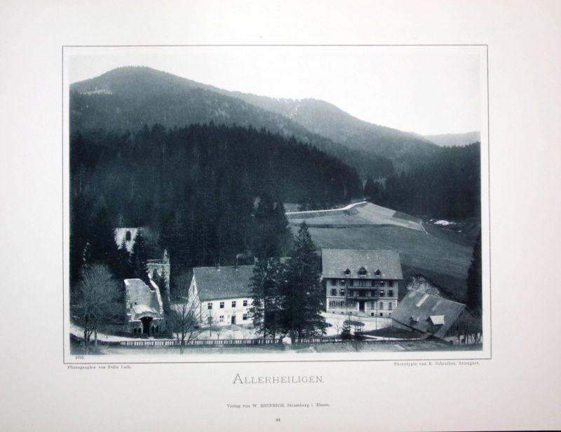 1895 Allerheiligen Oppenau Lierbachtal Foto Fotografie photo Schwarzwald Luib