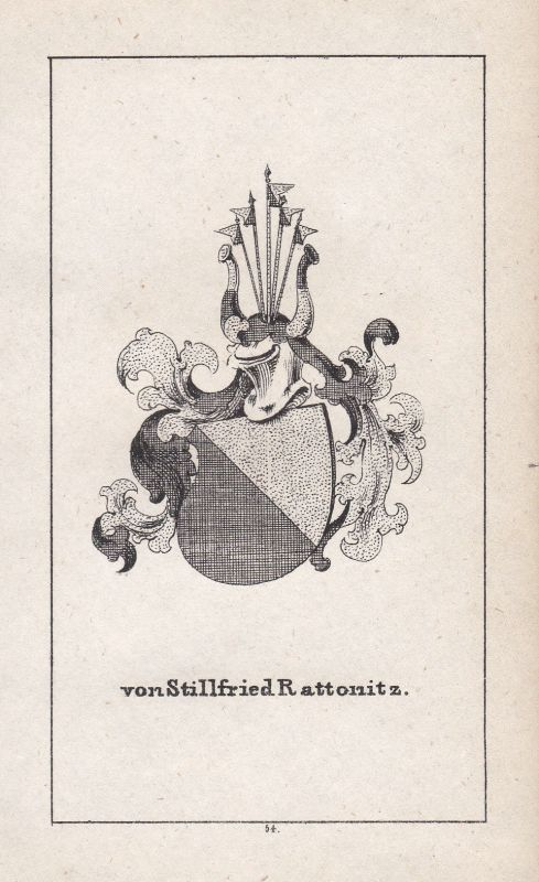 Stillfried-Rattonitz Tschechien Czech Böhmen Wappen Heraldik coat of arms Adel