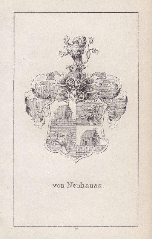 Neuhauss Neuhaus Nayhauß Schlesien Silesia Wappen Heraldik coat of arms Adel