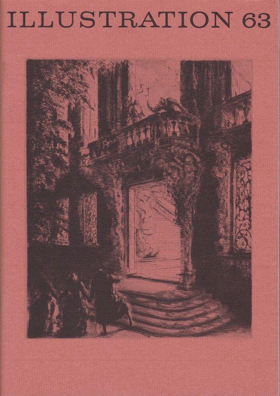 Curt Visel Illustration 63 - Zeitschrift für die Buchillustration - Heft 2 1996 0