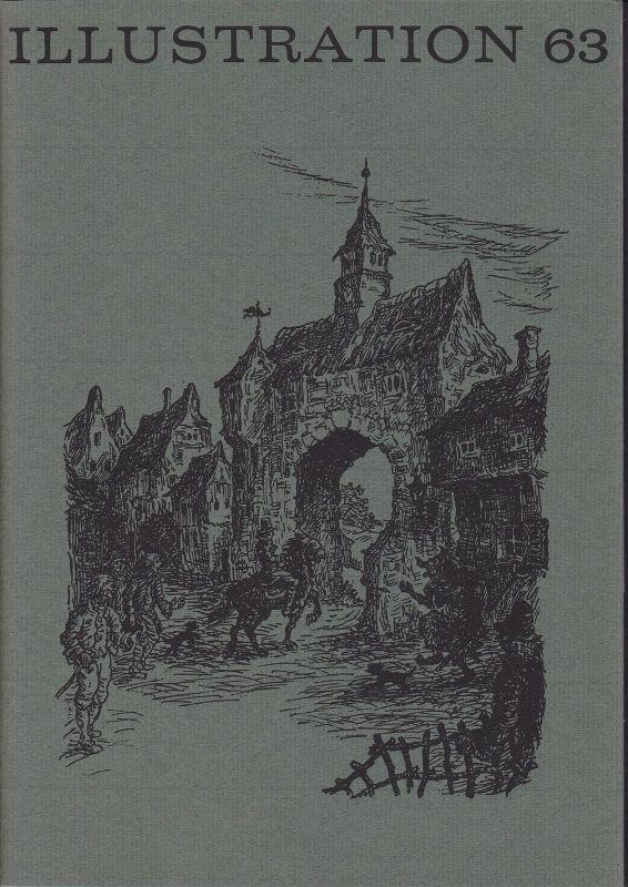Curt Visel Illustration 63 - Zeitschrift für die Buchillustration - Heft 1 1979