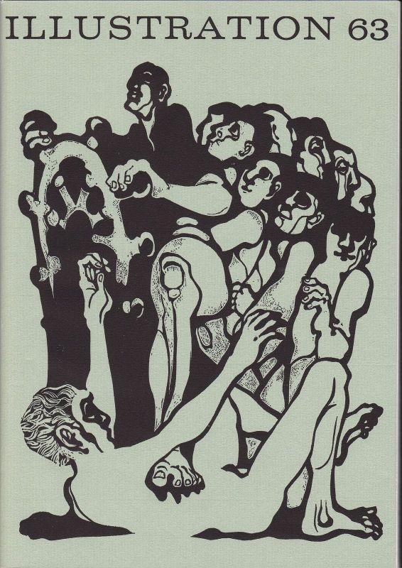 Curt Visel Illustration 63 - Zeitschrift für die Buchillustration - Heft 3 1974 0