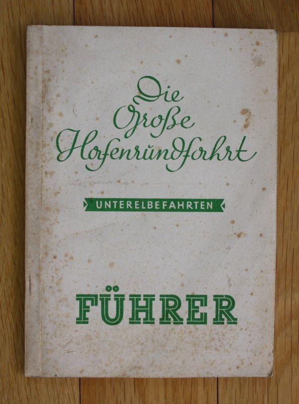 1938 Die große Hafenrundfahrt Hamburg 50 Jahre Hadac 0