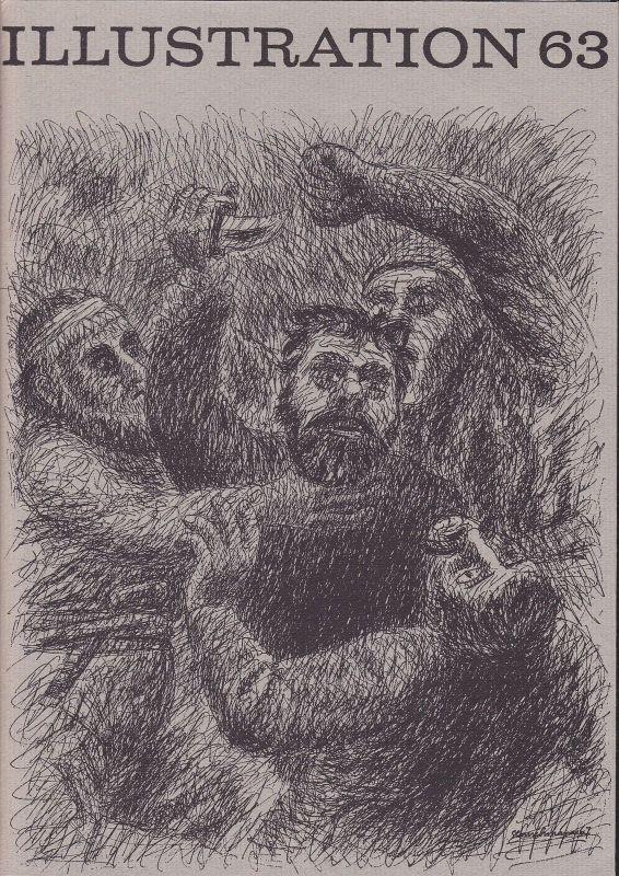 Curt Visel Illustration 63 - Zeitschrift für die Buchillustration - Heft 2 1967 0
