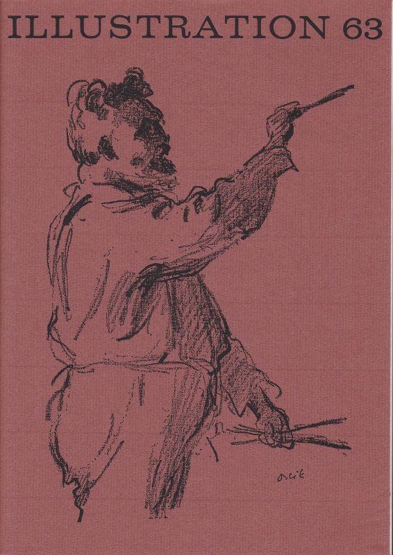 Curt Visel Illustration 63 - Zeitschrift für die Buchillustration - Heft 1 1982