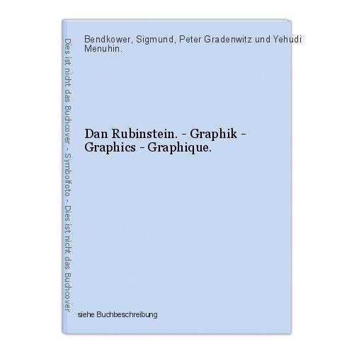 Dan Rubinstein. - Graphik - Graphics - Graphique. Bendkower, Sigmund, Peter Grad