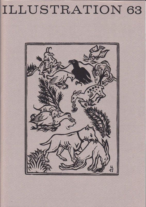 Curt Visel Illustration 63 - Zeitschrift für die Buchillustration - Heft 1 1977