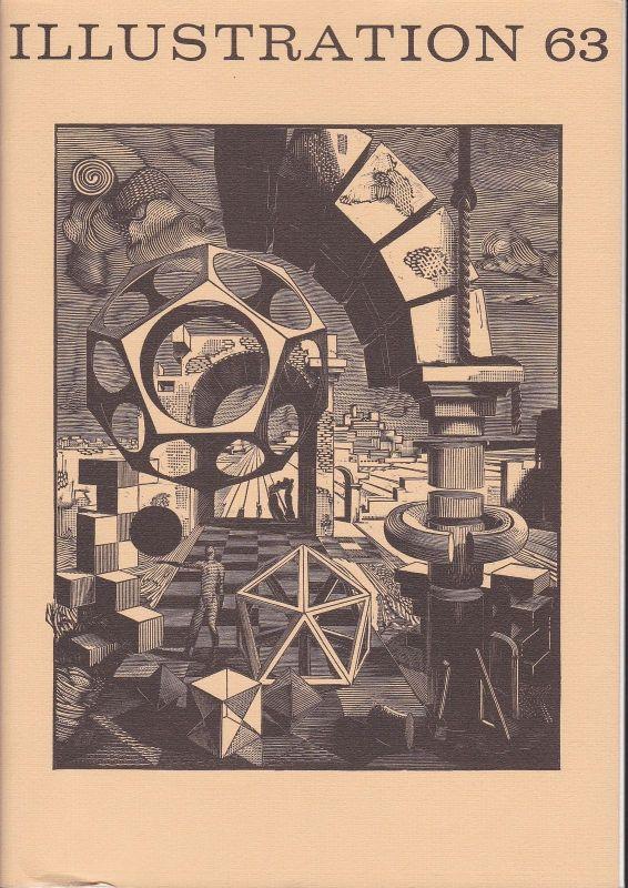 Curt Visel Illustration 63 - Zeitschrift für die Buchillustration - Heft 2 1968
