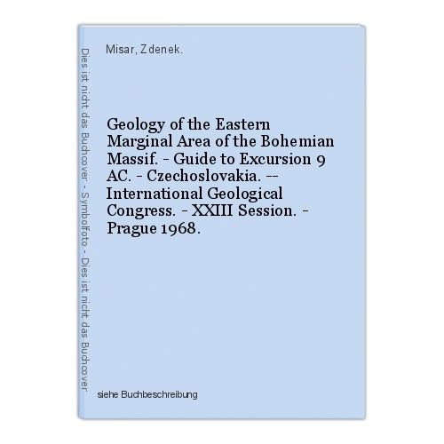 Geology of the Eastern Marginal Area of the Bohemian Massif. - Guide to Excursio