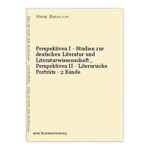 Perspektiven I - Studien zur deutschen Literatur und Literaturwissenschaft , Per