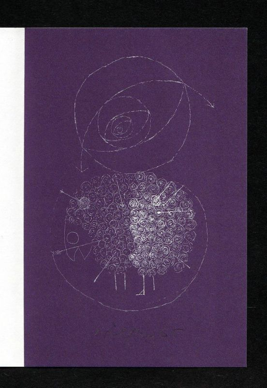1990 H. P. Willberg Filmschabblatt signiert 0