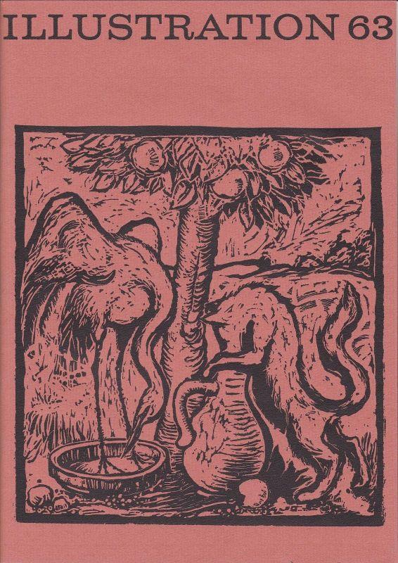 Curt Visel Illustration 63 - Zeitschrift für die Buchillustration - Heft 1 1968
