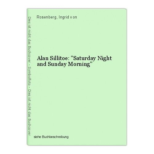 Alan Sillitoe: