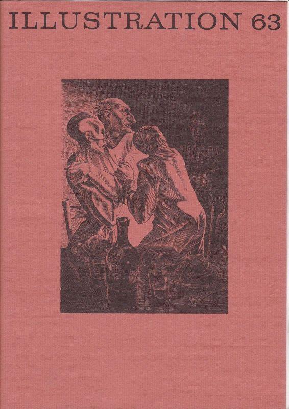 Curt Visel Illustration 63 - Zeitschrift für die Buchillustration - Heft 3 1996