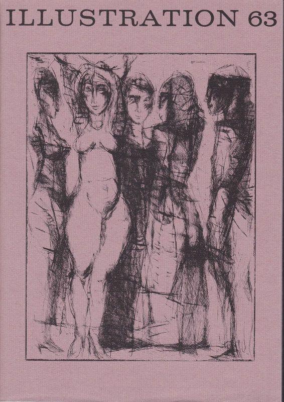 Curt Visel Illustration 63 - Zeitschrift für die Buchillustration - Heft 1 1989 0