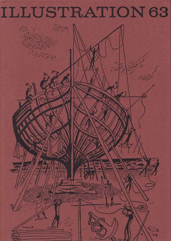Curt Visel Illustration 63 - Zeitschrift für die Buchillustration - Heft 4 1964