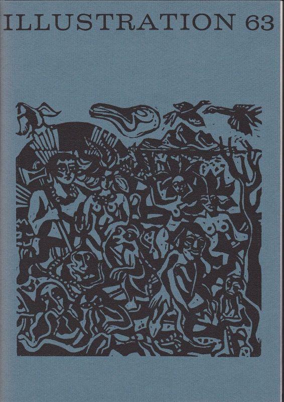 Curt Visel Illustration 63 - Zeitschrift für die Buchillustration - Heft 2 1971