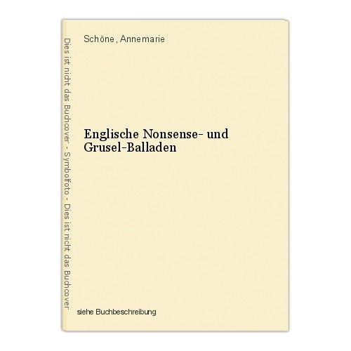 Englische Nonsense- und Grusel-Balladen Schöne, Annemarie 0