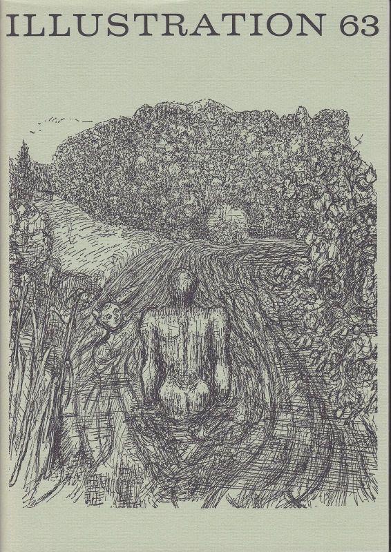 Curt Visel Illustration 63 - Zeitschrift für die Buchillustration - Heft 1 1969