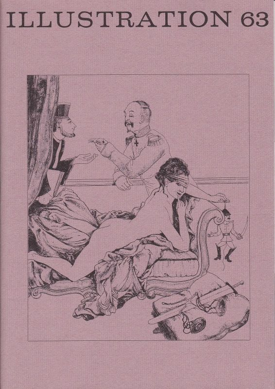 Curt Visel Illustration 63 - Zeitschrift für die Buchillustration - Heft 3 1989