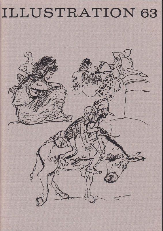 Curt Visel Illustration 63 - Zeitschrift für die Buchillustration - Heft 2 1977