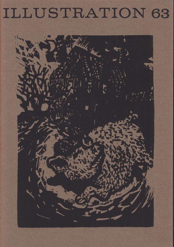 Curt Visel Illustration 63 - Zeitschrift für die Buchillustration - Heft 1 1984