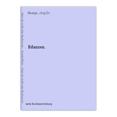 Bilanzen. Baetge, Jörg Dr. 0