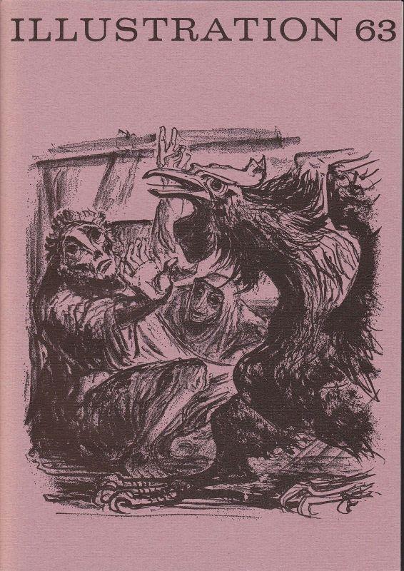 Curt Visel Illustration 63 - Zeitschrift für die Buchillustration - Heft 1 1970
