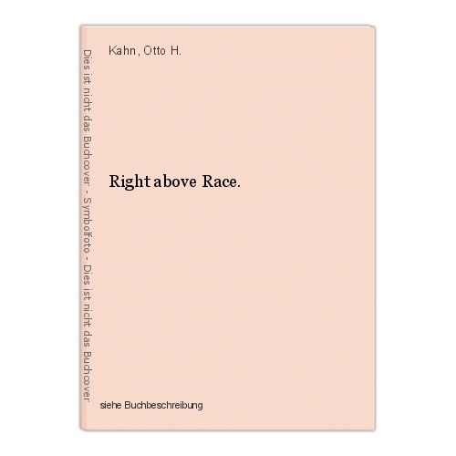 Right above Race. Kahn, Otto H. 0