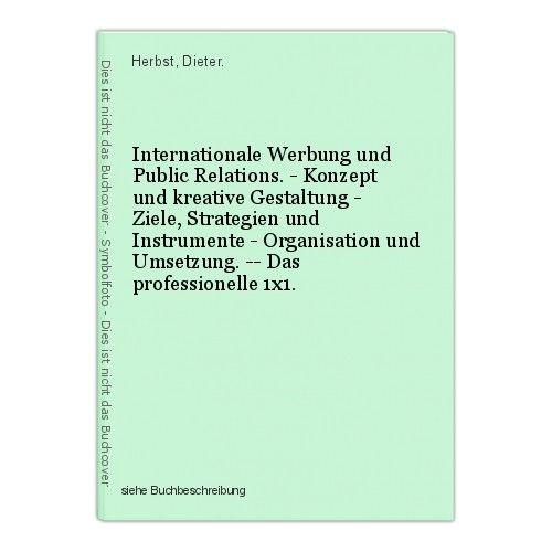 Internationale Werbung und Public Relations. - Konzept und kreative Gestaltung - 0