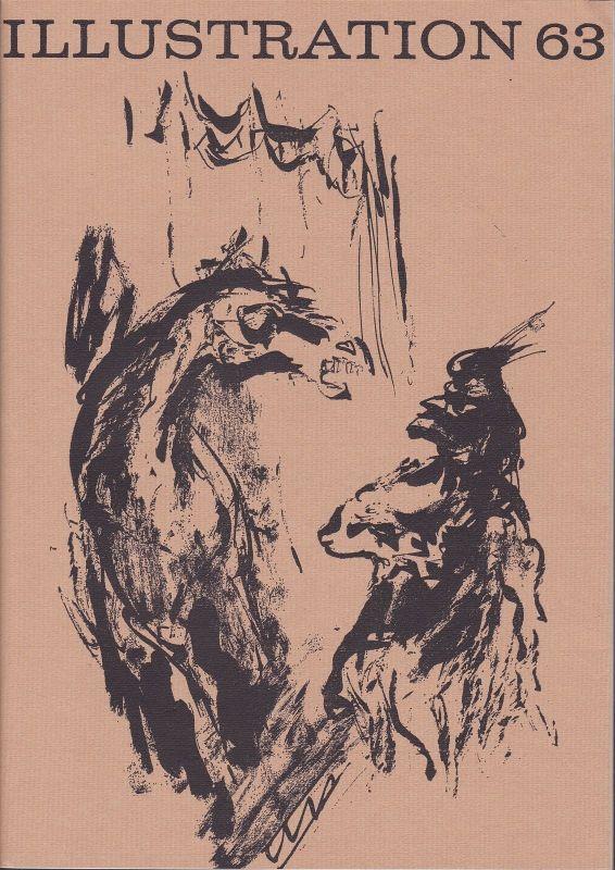Curt Visel Illustration 63 - Zeitschrift für die Buchillustration - Heft 2 1966