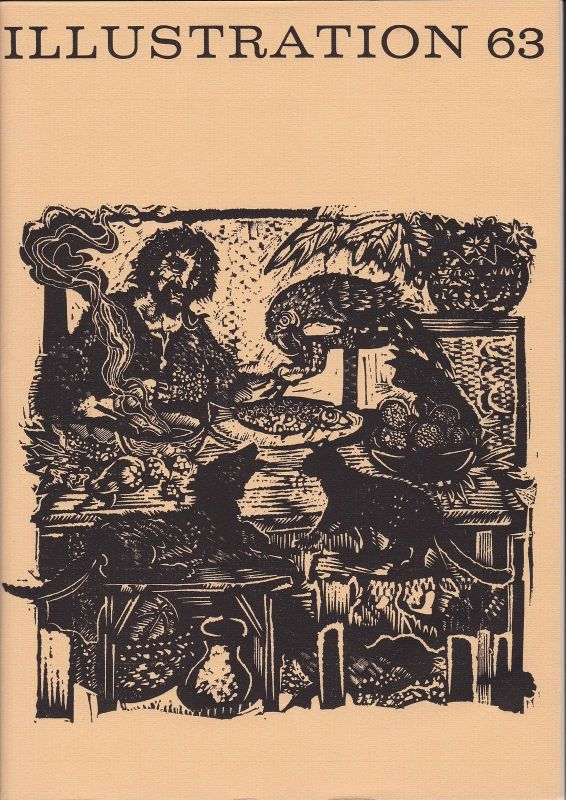 Curt Visel Illustration 63 - Zeitschrift für die Buchillustration - Heft 3 1972