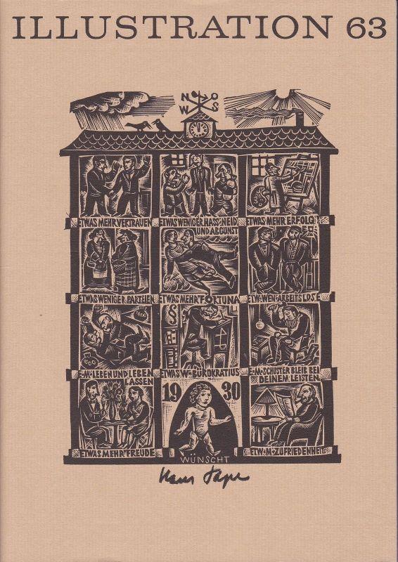 Curt Visel Illustration 63 - Zeitschrift für die Buchillustration - Heft 3 1994