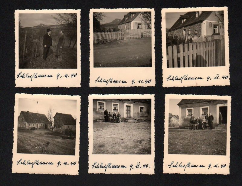1940 Schlaifhausen Wiesenthau LK Forchheim 6 x Original Foto Fotos Chronik photo