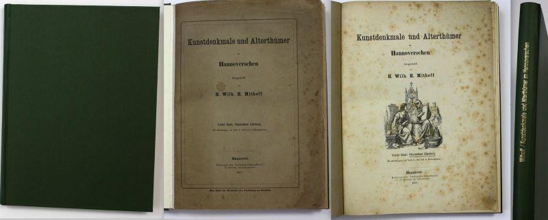 1877 Mithoff Kunstdenkmale Alterthümer Hannoverschen Lüneburg Kunstdenkmäler