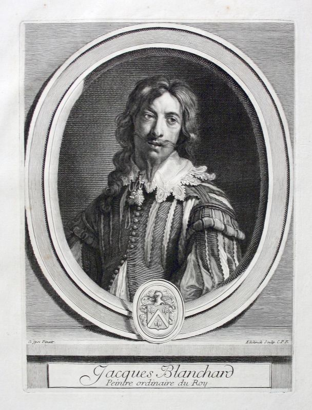 Ca. 1700  Jacques Blanchard peintre graveur Maler Zeichner Portrait Kupfe 160574 0