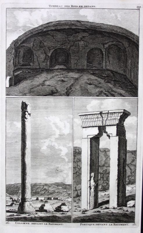 De Brujin Tombeau des Rois tomb kings Grab Könige Artaxerxes Iran architecture