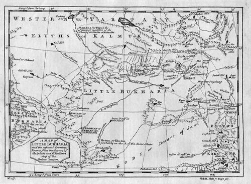 1750 - Bukari Russia Asia Map