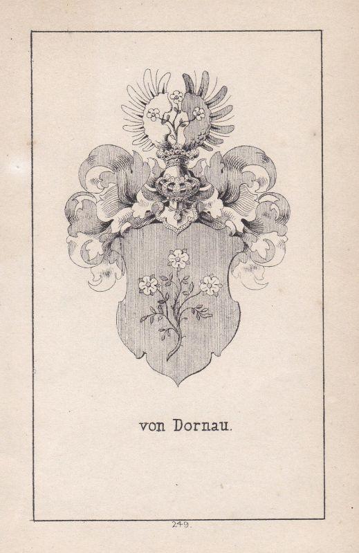 1840 Dornau Dornawer Augsburg Bavaria Bayern Wappen Heraldik coat of arms Adel
