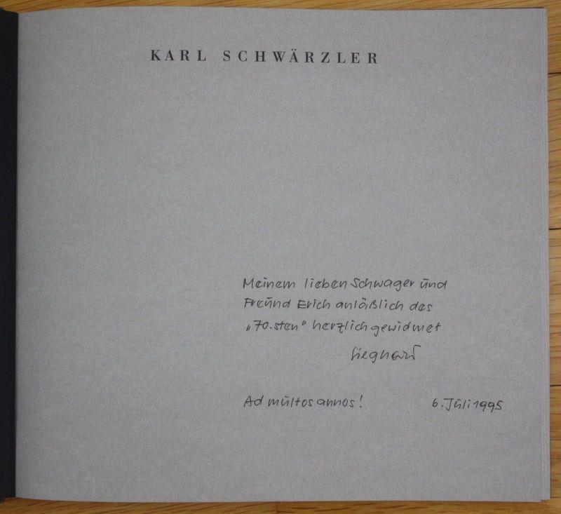 Ca. 1990 Oskar Streitler Holzschnitt Austellung Katalog Karl Schwärzler