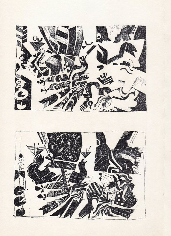 1972 Christoph Brudi Zinkätzungen Eroberung Mexiko Ferdinand Cortes signiert