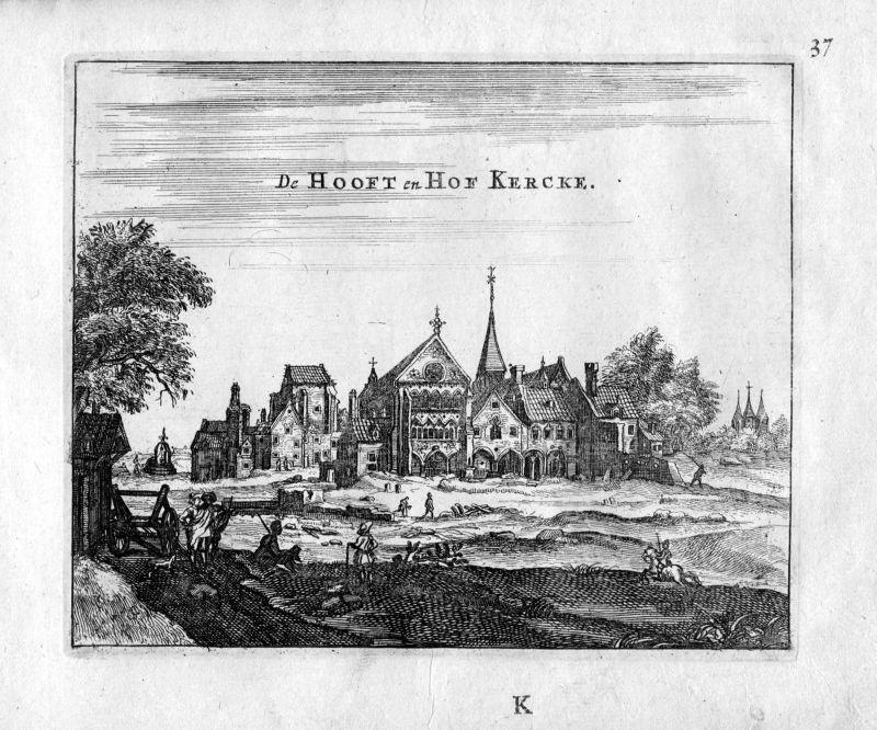 1666 Kirche Saint Germain Auxerrois Paris Frankreich France gravure estampe