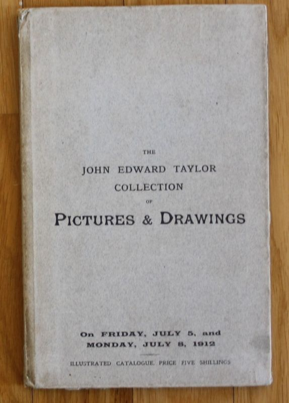 Taylor - Pictures & Drawings Auktion Auction 1912