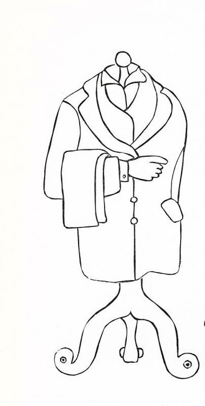 1992 Werner Brenneke Originallinolschnitt signiert